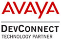 The Avaya DevConnect Technology Partner badge.