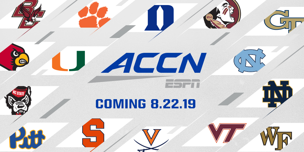 ACC coming August 22, 2019
