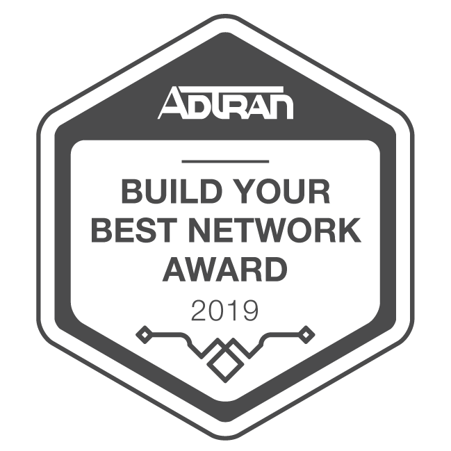 Lumos receives build a better network award in 2019